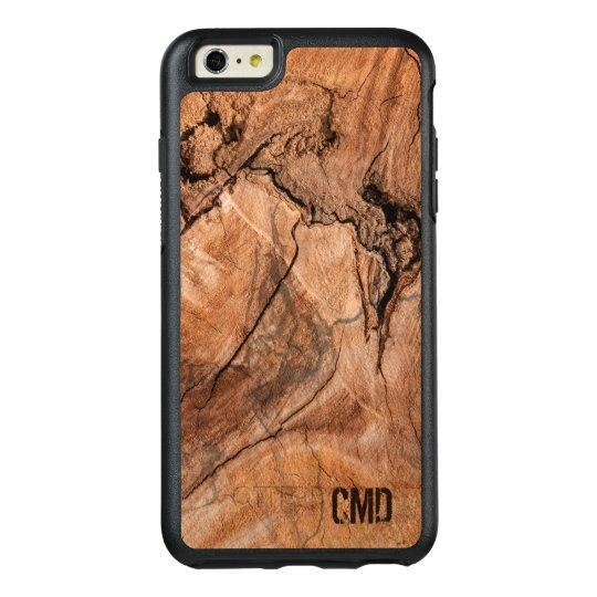 Textura de madera de los nudos de la naturaleza funda otterbox para iPhone 6/6s plus