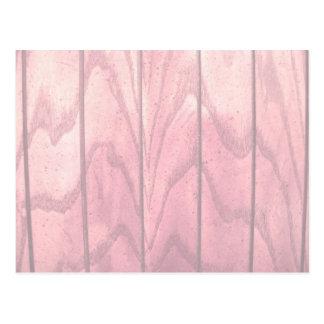 Textura de madera del Grunge en colores pastel Postal
