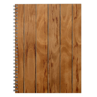 Textura de madera del piso del marrón oscuro cuaderno
