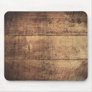 textura de madera rasguñada vintage fresco alfombrilla de ratón