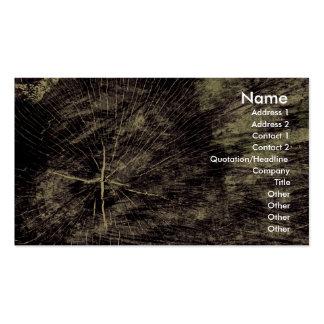 Textura de madera tarjetas de visita