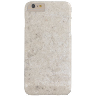 Textura de mármol blanca funda barely there iPhone 6 plus