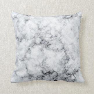 Textura de mármol cojín decorativo