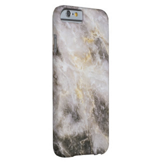 Textura de mármol real funda barely there iPhone 6