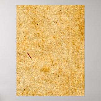 Textura de papel francesa antigua del fondo del póster