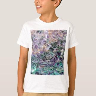 textura de piedra amethyst camiseta