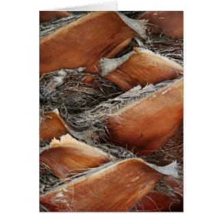 Textura del árbol tarjeta de felicitación