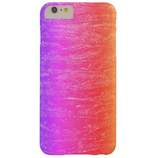 Textura del arco iris funda barely there iPhone 6 plus