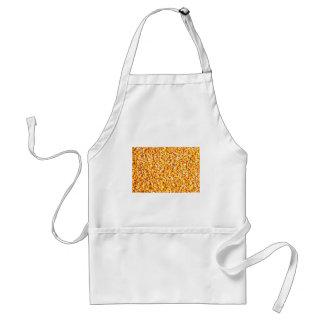 Textura del maíz delantal