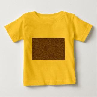 Textura del oso camiseta de bebé