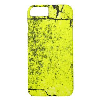 Textura envejecida del pergamino del Midas del oro Funda Para iPhone 8/7