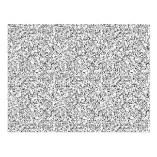 Textura gris clara postal