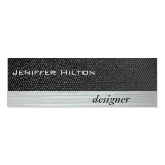 Textura gris de lujo moderna elegante profesional tarjetas de visita mini