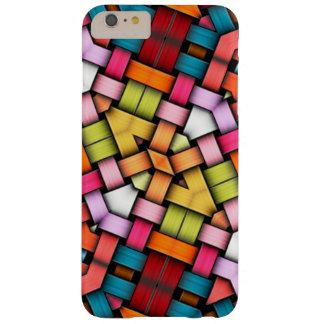 Textura hecha punto colorida funda barely there iPhone 6 plus