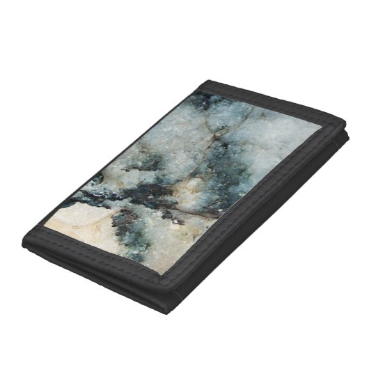 Textura mineral del cuarzo azul y negro