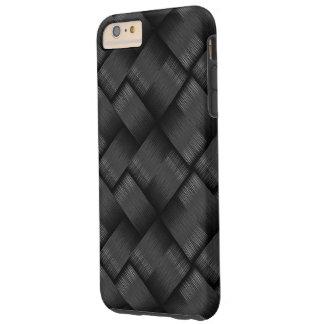 Textura moderna de la armadura funda resistente iPhone 6 plus