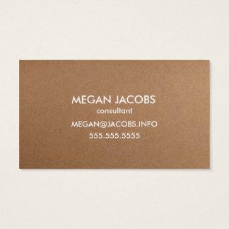 Textura moderna del papel del arte tarjeta de visita