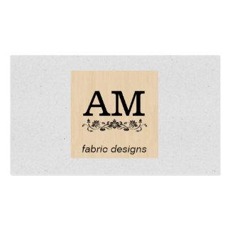 Textura moteada //de madera (impresión) tarjetas de visita