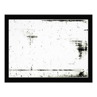 Textura negra del Grunge del borde añada su Comunicado