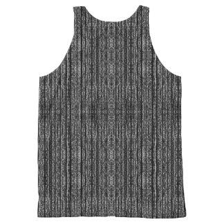Textura oscura del Grunge Camiseta De Tirantes Con Estampado Integral