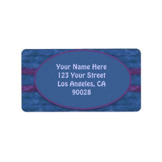 textura púrpura azul marino etiquetas de dirección