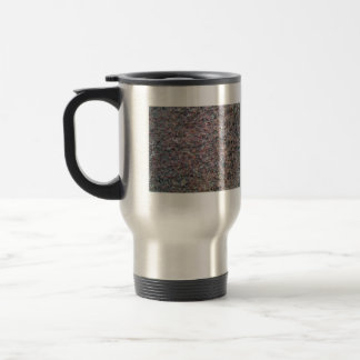 Textura roja y negra del granito taza de café
