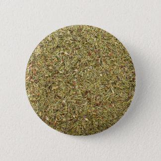 textura secada del tomillo chapa redonda de 5 cm