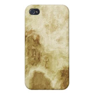 Textura TPD del extracto 6 iPhone 4 Fundas