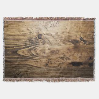 texturas de madera de madera de la naturaleza manta tejida