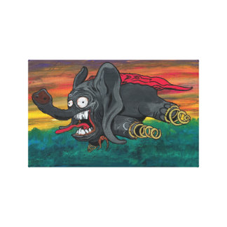 Th Dumbo real Lienzo