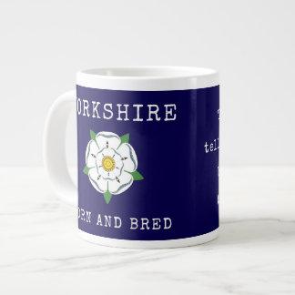 Tha puede allus decir una taza del jumbo de Yorksh Taza Grande