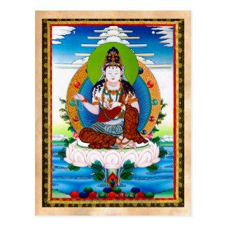 Thangka tibetano oriental fresco Mahacakravajra Postal