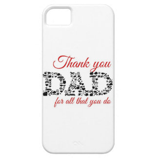Thank you Dad for all that you do Funda Para iPhone SE/5/5s