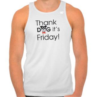 #ThankDogIt'sFriday Camiseta Con Tirantes