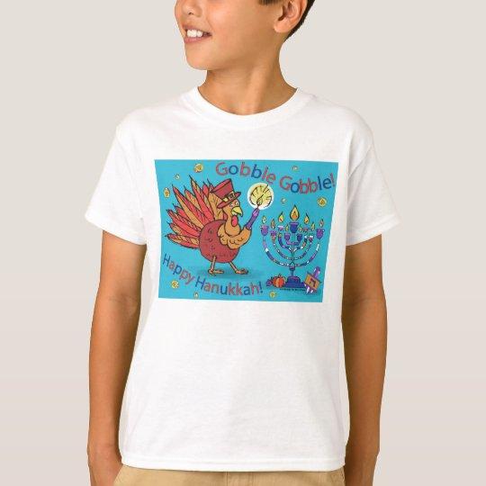 Thanksgivukkah-T Camiseta