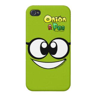 The Atomic Pea iphone 4/4S case. iPhone 4 Cobertura