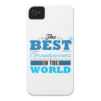 The best grandparents in the world Case-Mate iPhone 4 protectores