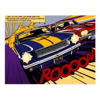 The Duel: Mustang vs. Corvette Postal