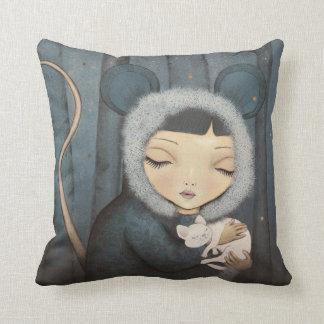 The Little Mouse Princess Cojín Decorativo