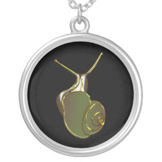 The Lucky Snail Green eXi Pendientes Personalizados