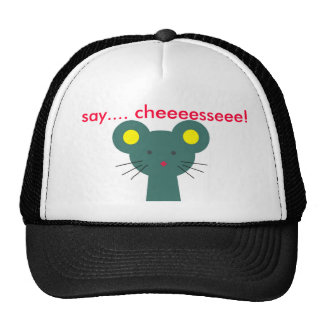 The mouse in the hat gorras