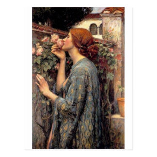 the_soul_of_the_rose_-_waterhouse postal