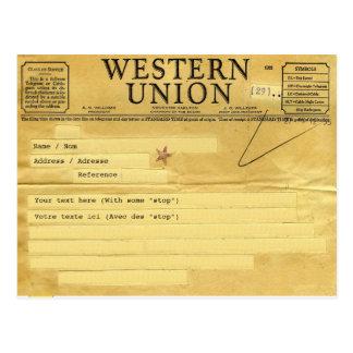 The telegram el telegrama postales