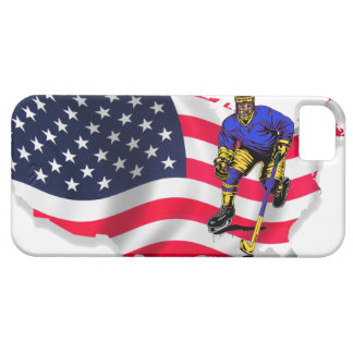THE USA HOCKEY iPhone 5 Case-Mate PROTECTORES