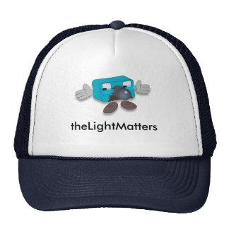 theLightMatters -- Casquillo de profesor Pixel Gorros Bordados