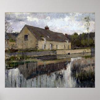 Theodore Robinson en el canal Póster