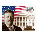 Theodore Roosevelt - vigésimo sexto presidente de  Tarjeta Postal