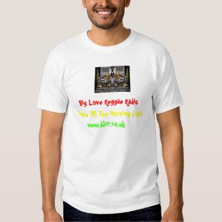 TheReggaeTwins, radio grande del reggae del amor, Camisetas