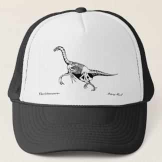 Therizinosaurus del gorra del dinosaurio por