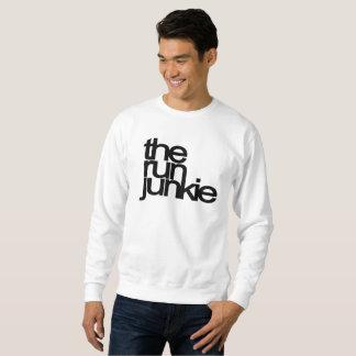 TheRunJunkie - top para hombre del sudor - blanco